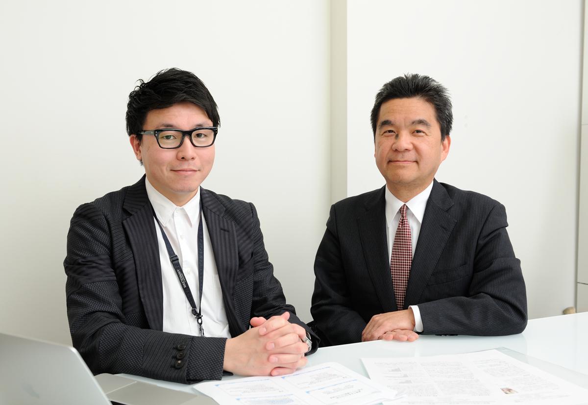柴田先生と末繁先生