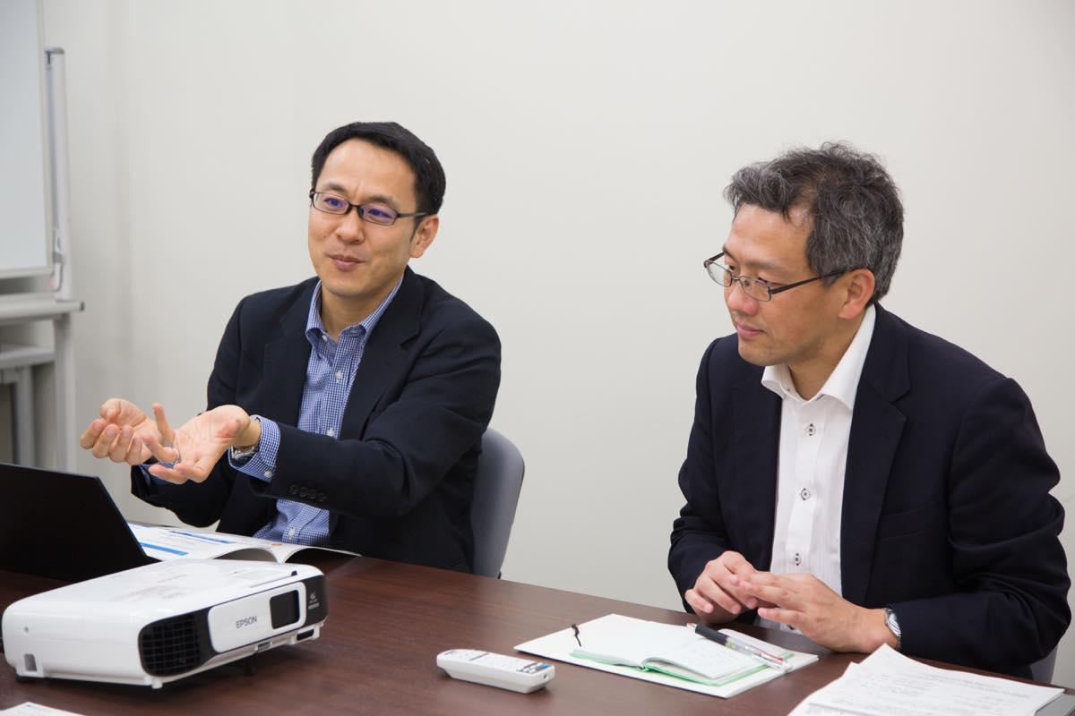 岡田准教授・今井准教授