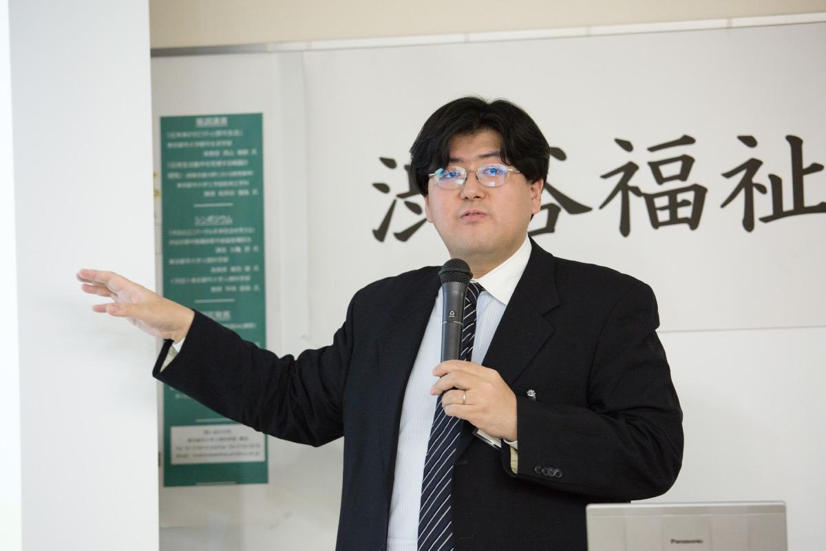西山敏樹准教授