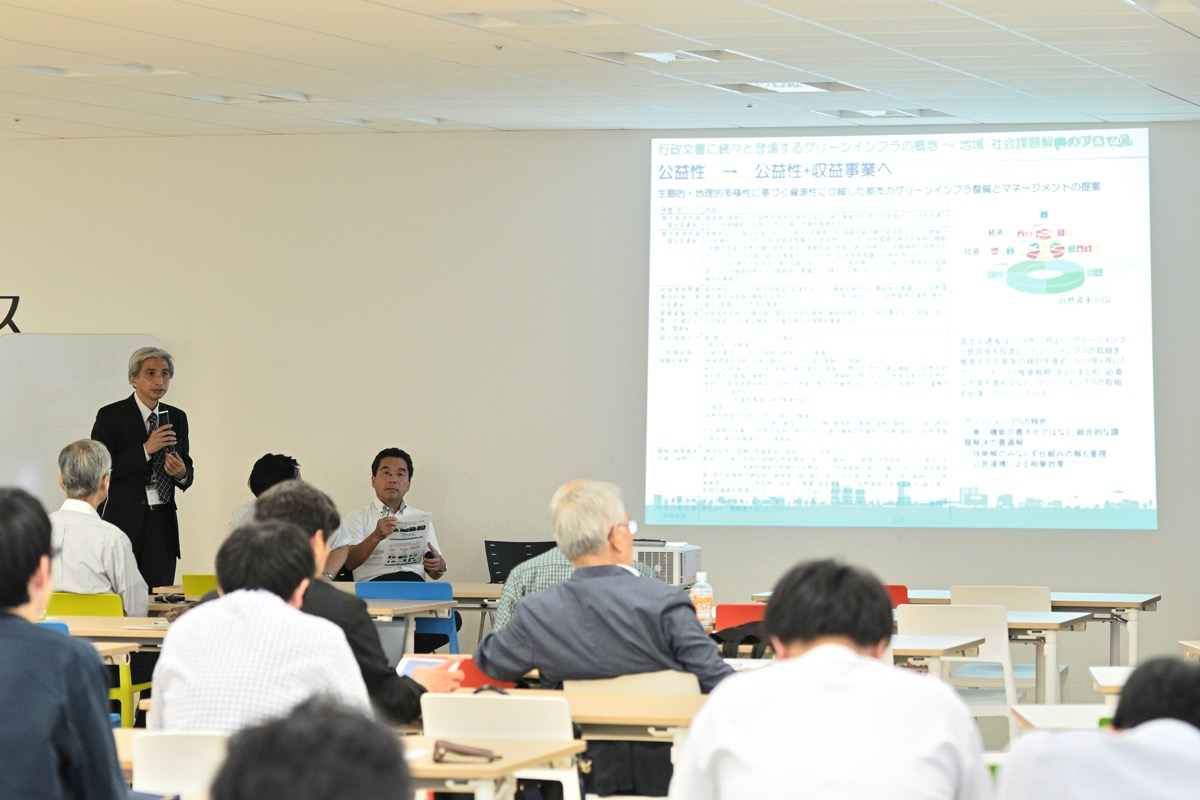 環境領域 飯島健太郎 教授