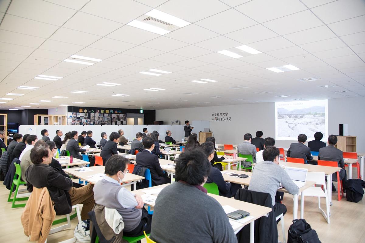未来都市研究機構第7回セミナーの様子