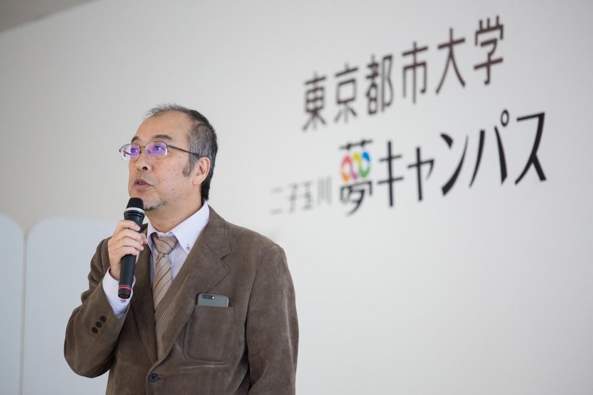 吉田郁政教授