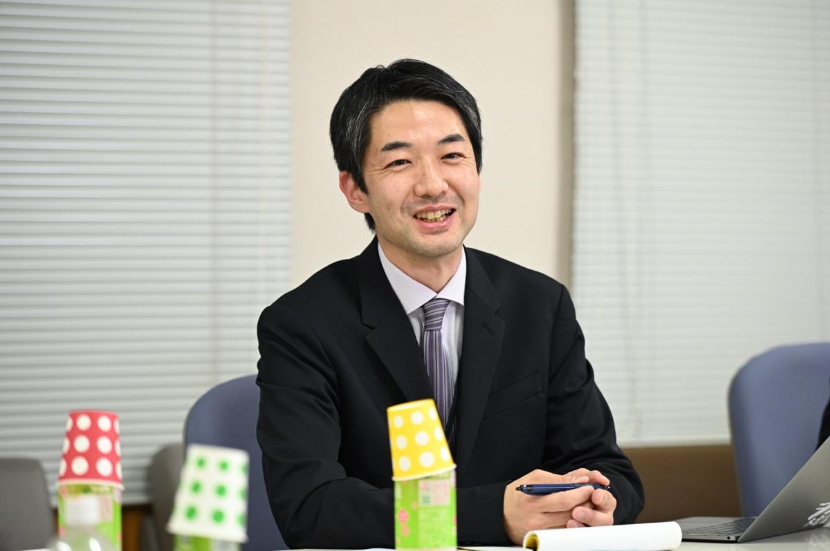 横田准教授
