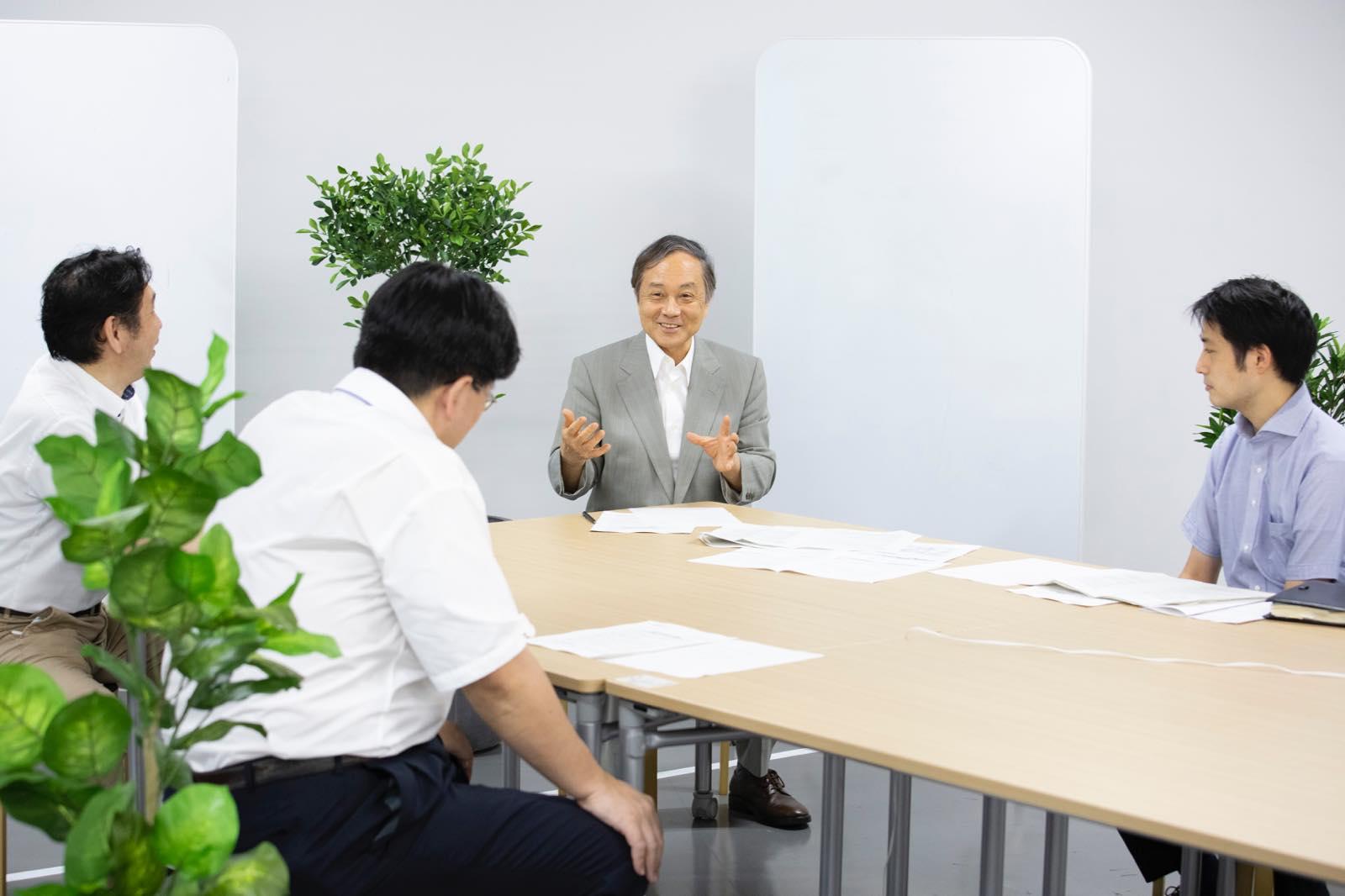 町田市未来都市研究2050の座談会