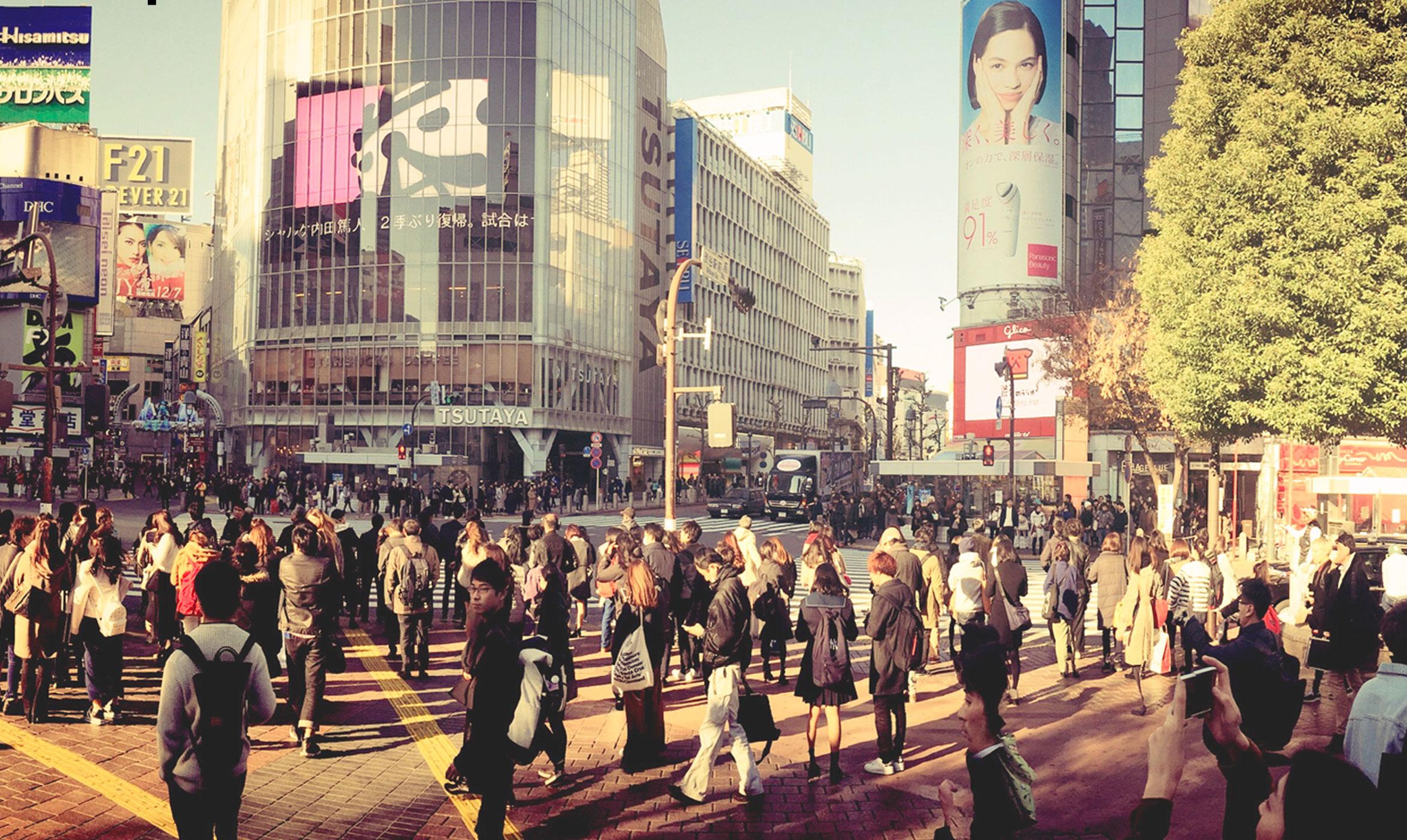 渋谷の雑踏(イメージ)
