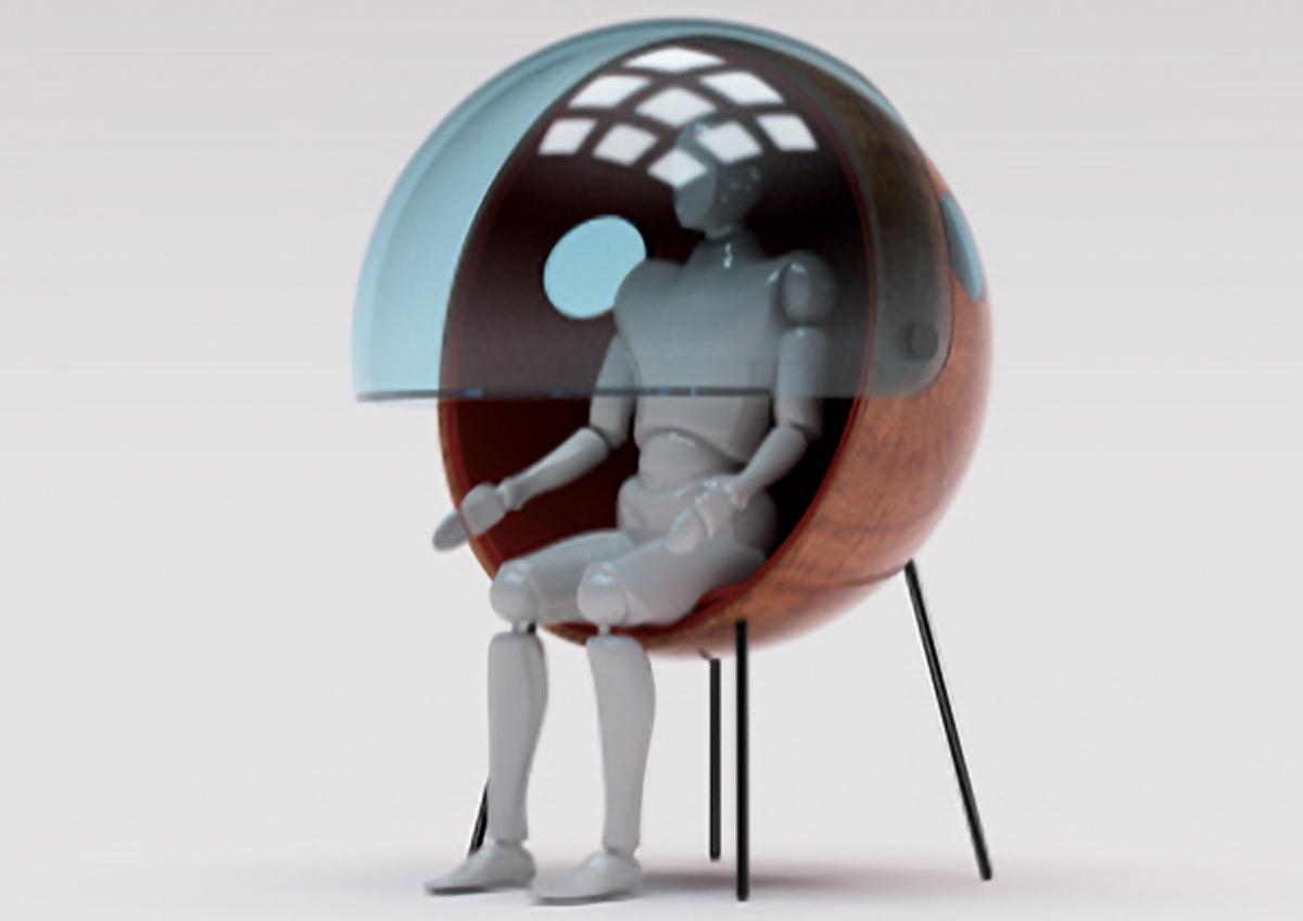 カプセル型オフィスのイメージ