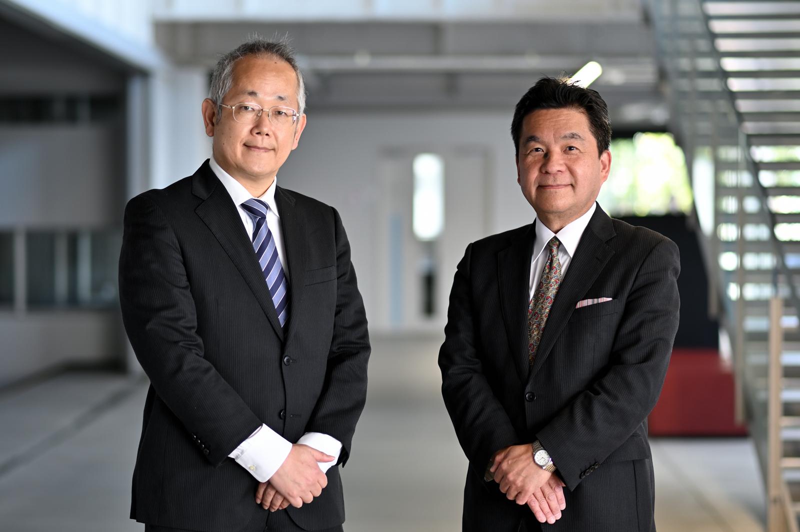 塩本公平先生、柴田随道先生