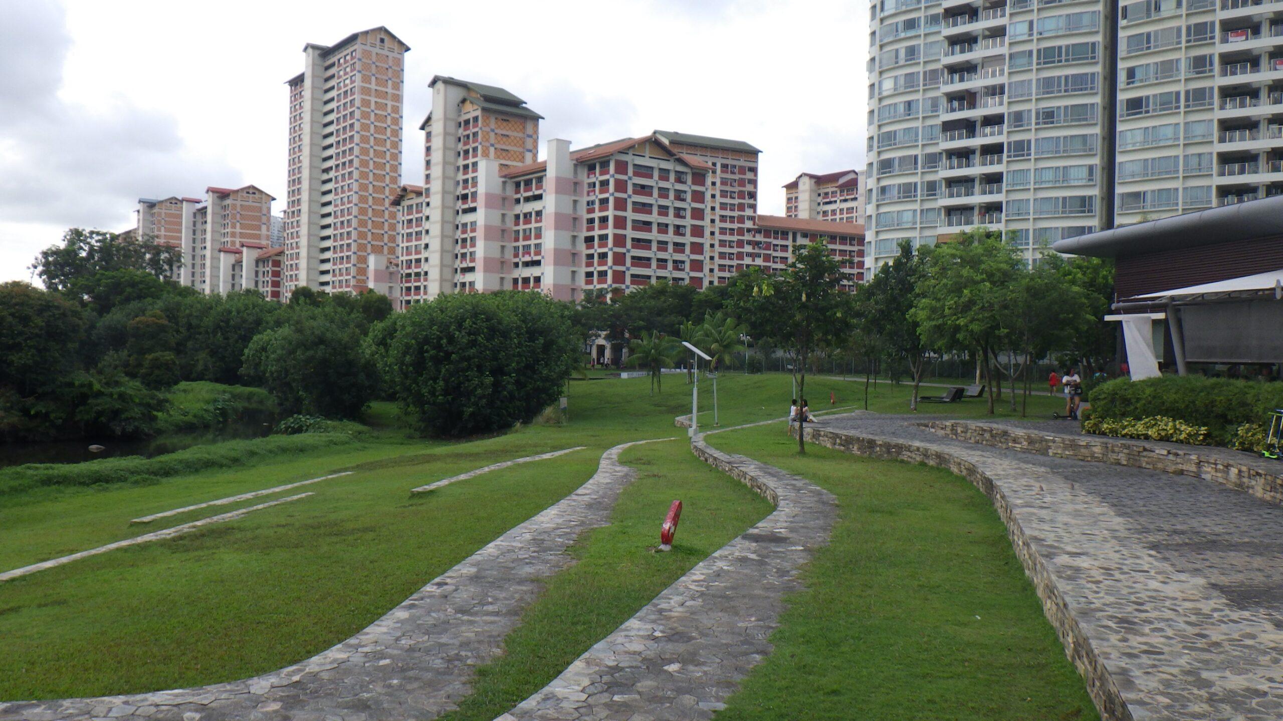 ビシャンパーク・洪水対策(シンガポール)